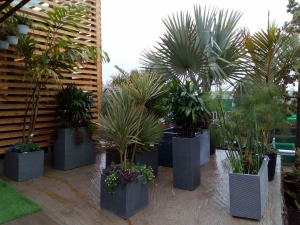 planters made in polystone